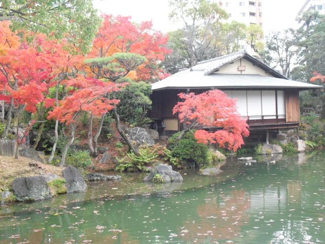 神戸 相楽園 紅葉