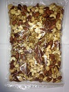 5種類ミックスナッツ 1kg (クルミ.カシュナッツ.アーモンド.マカデミアナッツ.ピーカンナッツ)